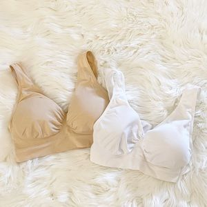 Other - Women's Pull-On Soft Cup Bras Set of 2